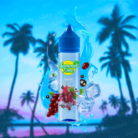 VAPY Summer Time Wave - 10/60 ml.